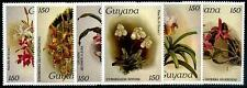 GUYANA Sc.# 1032//1107 Orchids NH Stamps