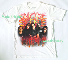 SUICIDE SILENCE T-Shirt White Size S M L XL EXTREAM METAL DEATHCORE MEMBER BOARD