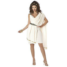 Women's Deluxe Classic Toga Halloween Costume - Adult Size
