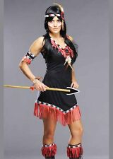 Womens Rising Sun Native Indian Princess Costume