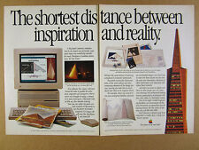 1989 Apple Macintosh IIcx Computer CAD Software vintage print Ad