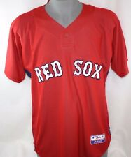 NEW Mens MAJESTIC Cool Base Boston RED SOX MLB #34 ORTIZ Red Baseball Jersey