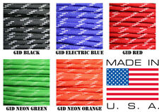 550 paracord parachute cord Type III 7 Strand Glow in the Dark 50ft or 100ft
