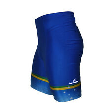 New L Barbedo Brazil Team Cycling Shorts flat seam with pad anatomic fit