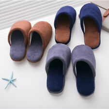 Men Winter Soft Warm Home Antiski Slippers Shoes Indoor Slippers Plush Slippers