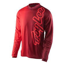 NEW Troy Lee Designs Mens GP Jersey 50/50 RED MX ATV Off Road Biking 30712940