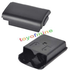 New Battery Pack Cover Case Shell for Xbox 360 Xbox360 Game Controller Black US