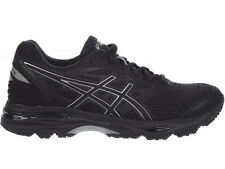 NEW WOMENS ASICS GEL-CUMULUS 18 RUNNING SHOES TRAINERS BLACK / SILVER / BLACK