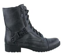 Guess Burke Combat Boot Womens Boots  Low Heel