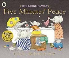 Five Minutes' Peace (Large Family) with audio cd, Murphy, Jill | Paperback Book