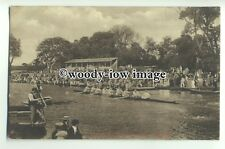 "tp9309 - Cambs - ""Eights"" Race along Cambridge River, in Regatta - postcard"