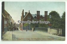 tp9312 - Cambs - Magdalen College and Magdalen Street, Cambridge - postcard