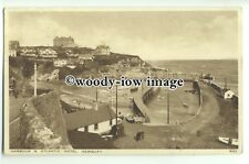 tp9328 - Cornwall - The Harbour and the Atlantic Hotel, in Newquay - postcard