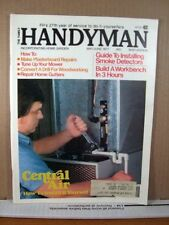 The Family Handyman Magazine May/June 1977 Central Air