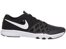 NEW MENS NIKE TRAIN SPEED 4 CROSS TRAINING SHOES TRAINERS BLACK / WHITE
