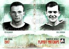 2012-13 ITG Forever Rivals Playoff Matchups #7 Ted Kennedy, Bill Durnan