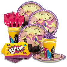 Superhero Party Standard Kit  Serves 8 Guests Party Supplies