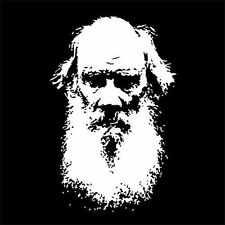 LEO TOLSTOY (resurrection book vintage new poster gift bust collection) T-SHIRT