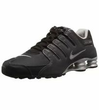 Nike Men Shox NZ EU Running Shoes Black/Anthracite/Silver 501524-024 ***