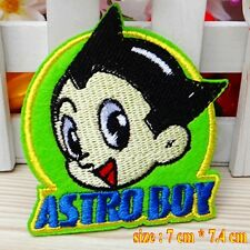 10pcs/set Astro Boy Atom Cosplay Embroidered Applique Iron Sew on Patches/Badges