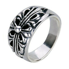 Knights Crusaders Flower Ring for Men's Apparel Cool Jewelry Items SZ15-1281