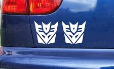 Decepticons Transformers Funny Novelty Custom Car Window Bumper Stickers Decals