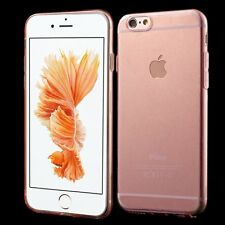 Transparent Glossy Silicone Dustproof Case Cover Skin for iPhone 6&6s 4.7''/Plus