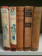 Richmal Crompton - 'William' Series - 5 Books Collection! (ID:40694)