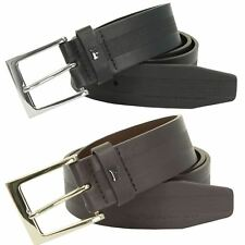 Mens Single Prong Leather Belt by French Connection/ FCUK