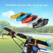 Aluminum Alloy Bicycle MTB Bar Ends and Plugs Bike Grips Folding End Caps K7I0