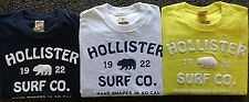 NEW MENS HOLLISTER S/S GRAPHIC T-SHIRT, PICK COLOR & SIZE, ABERCROMBIE & FITCH