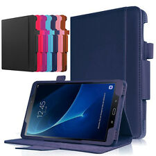"For Samsung Galaxy Tab A T580N 10.1"" 10"" Tablet Leather Case Folio Stand Cover"