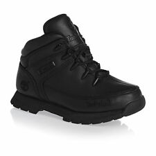 Timberland Boots - Timberland Youth Euro Sprint Boots - Black Smooth