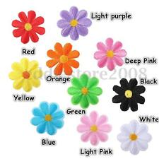 Colorful Little Flowers Floral Embroidered Badge Sew Iron on Patch Applique