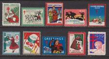 10 Years of Red Cross Christmas Seals , 1930 - 1939 , I Combine S/H