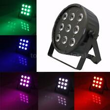 RGBW 120W DMX 9LED Stage Lighting PAR Wash Strobe Dimmable 8CH Lamp HOT M6Y3