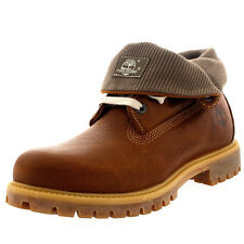 Mens Timberland AF Roll Top Leather Winter Lace Up Casual Ankle Boots UK 7-12