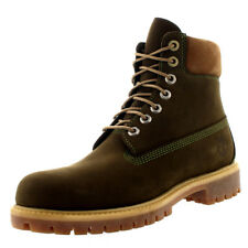 Mens Timberland 6 Inch Premium Leather Casual Waterproof Ankle Boots US 7.5-13.5