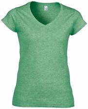 Gildan-Womens tshirts & tops-Softstyle™ v-neck t-shirt