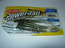 """BERKLEY POURED CURL TAIL WORM MPFPCT5 SOFT FISHING BAITS 5"""" ALL COLOURS (6/pack)"""