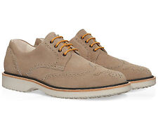 Hogan Route H217 men's brogues wingtip lace-ups shoes made in Italy