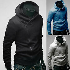 Hot Stylish Creed Hoodie Slim Fit Mens Cosplay Coat For Assassins Jacket Costume