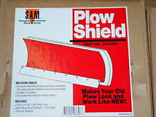 Snow Plow Shield poly liner blade 4x4 ATV meyer buyers 1310220 RED for Western?