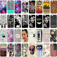 Fashion Hot Pattern Ultra Thin Soft TPU Phone Case Cover For iPhone 6S 5S 7