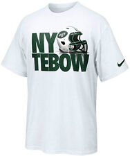Tim Tebow New York Jets New York Tebow Helmet t-shirt Nike new with tags NFL