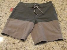 NEW Mossimo Supply Men's Green & Brown Swim Trunks Board Shorts Size 30 32 36