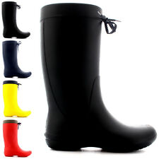 Womens Crocs Freesail Rain Snow Winter Wellington Waterproof Rain Boots US 3-10