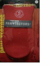 DOG BOOTS WEATHER Protection Ultra Paws WATERPROOF PAWTECTORS Fleece Lining RED