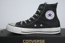 New All Star Converse Chucks CT hi Trainers Black Well Worn 142222c
