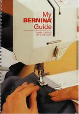BERNINA 1120 1130 Choice of Instruction or Service manual / Parts on CD / PDF